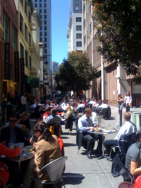 Lunch Hour, San Francisco Style